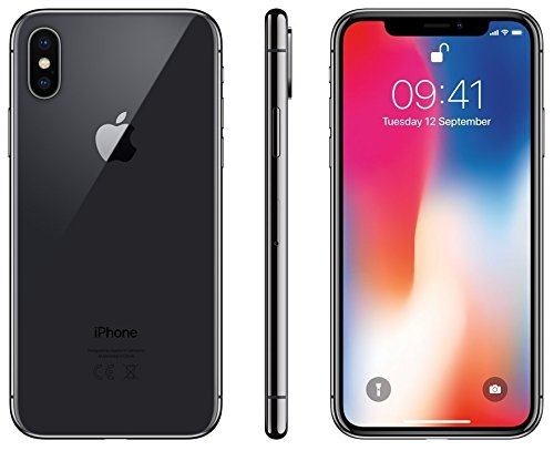 Apple iPhone X SIM-Free Smartphone – Space Grey