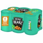 Heinz Baked Beanz in Tomato Sauce 415 g (Pack of 6)
