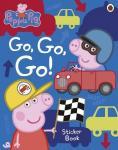 Go, Go, Go! Vehicles Sticker Book – Peppa Pig