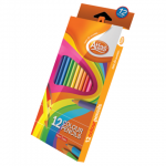 Atlas Colour Pencils – 12 Colours