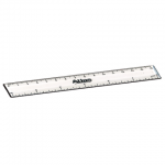 Atlas Imported Clear Fiber Ruler – 15cm/6in