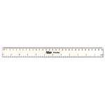 Atlas Imported Clear Fiber Ruler – 30cm/12in