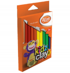 Atlas Imported Kidz Clay 12 Colours – 200g