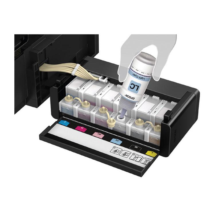 Epson L805 Wi-Fi Photo Ink Tank Color Printer - Jungle lk