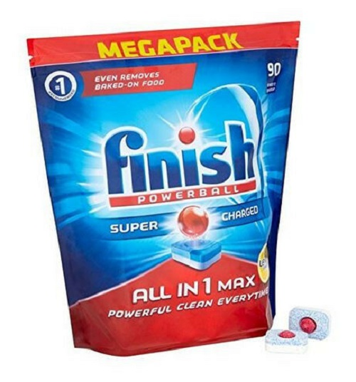Finish All-in-1 Max Lemon Dishwasher Tablets - 90 Per Pack - Jungle.lk