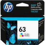 HP 63 Tri-Color Original Cartridge for HP 1110/ 1112/ 3830/ 2130/ 2132/ 4650