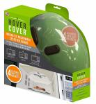 Hover Cover Magnetic Microwave Splatter Guard Lid With Steam Vents – As Seen On TV
