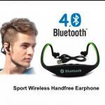 Sports Bluetooth Headset Wireless Handsfree