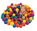 Intex 3-1/8″ Fun Ballz – 100 Multi-Colored Plastic Balls 49602NP