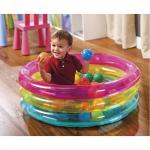 Intex Children's 3-Ring Inflatable Baby Ball Pit – 48674