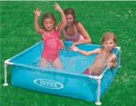 Intex Mini Rectangle Frame Pool Blue – 57173