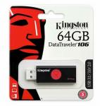 Kingston 64GB DT-106 USB3.0 Pen Drive – DT106/64GB