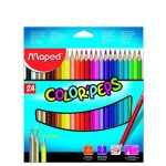 Maped Color Peps Colour Pencil – 24 Shades – Cardboard Box