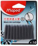 Maped Fountain Pen Ink Refills Black -10 Units