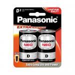 Panasonic Neo Manganese D-Size Battery – R20NT/2B