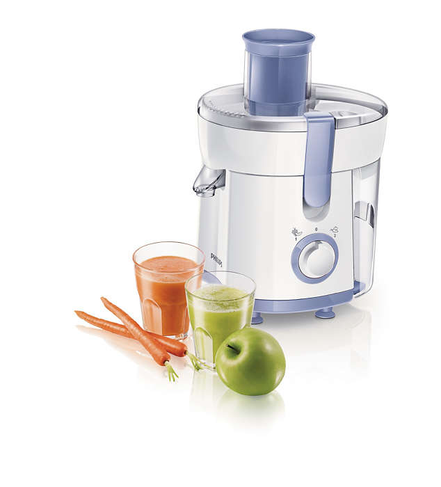 Philips Daily Collection 350W White Lavender Juicer HR1811