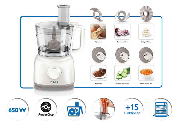 Philips Küchenmaschine Hr7627 2021