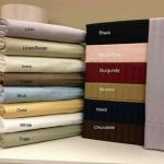 Self Striped Egyptian Cotton Flat Fitted Sheet With 4x Pillow Cases