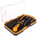 Tolsen Ratchet Screwdriver 42 pcs Bits & Sockets Set – 20041