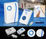 Zhishan 32 Ring Tone Wireless Remote Control Doorbell 100m – White