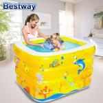 Bestway Inflatable Square Infant Swimming Pool