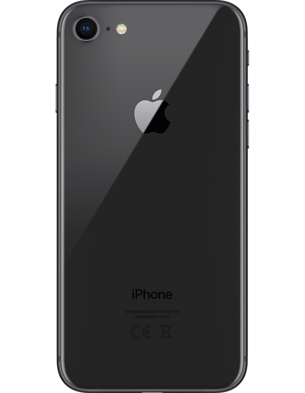 Apple iPhone 8 Space Grey – Unlocked Back