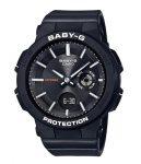 Casio Baby-G Active Women Watch BGA-255-1A Resin - Neon Illuminator - 100m Water Resistance