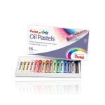 Pentel Arts Oil Pastels 16 Color Set – PHN-16