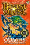 Beast Quest Series : Quagos the Armoured Beetle Book by Adam Blade