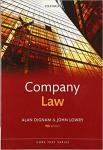 Company Law (Core Text) Book by Alan Dignam