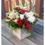 Mixed Roses Arrangement