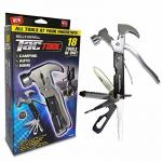 Bell + Howell TAC Tool Stainless Steel 18-in-1 Multi Tool