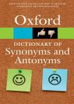 Oxford Dictionary of Synonyms and Antonyms : Quick Reference