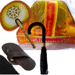 Dolos Pirikara With Aluminum Paththaraya, Challenger Sivuru, Fan, Umbrella and Slippers