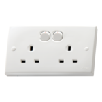 Orange Casablanca X5 13A Twin Switched Socket Outlet (100-1170)