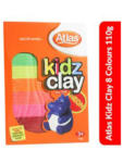 Atlas Imported Kidz Clay 08 Colours 110g