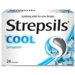 Strepsils Cool Sensation Lozenges – Pack of 24s