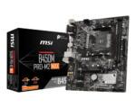 MSI B450 PRO-M2 MAX Motherboard
