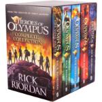 Heroes of Olympus Complete Collection – 5 Books Box Set Pack