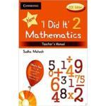 I Did It Mathematics Teachers Manual 2