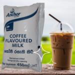 Anchor Iced Coffee Flavoured Milk 450ml Pack
