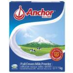 Anchor Full Cream Milk Powder 1Kg